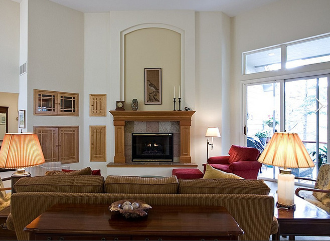 fireplace overmantel