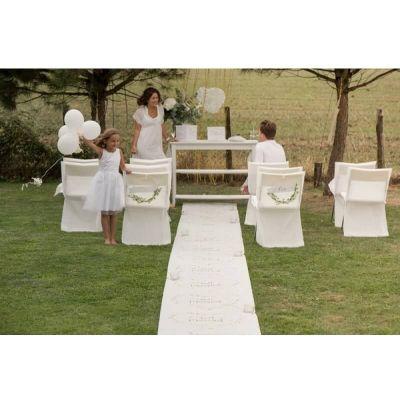 tapis de ceremonie just married or