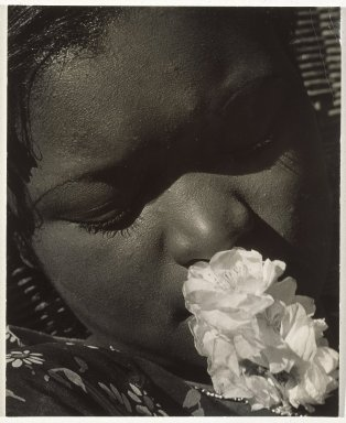 Brooklyn Museum: Frances with a Flower