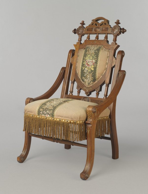 Brooklyn Museum Decorative Arts Folding Armchair