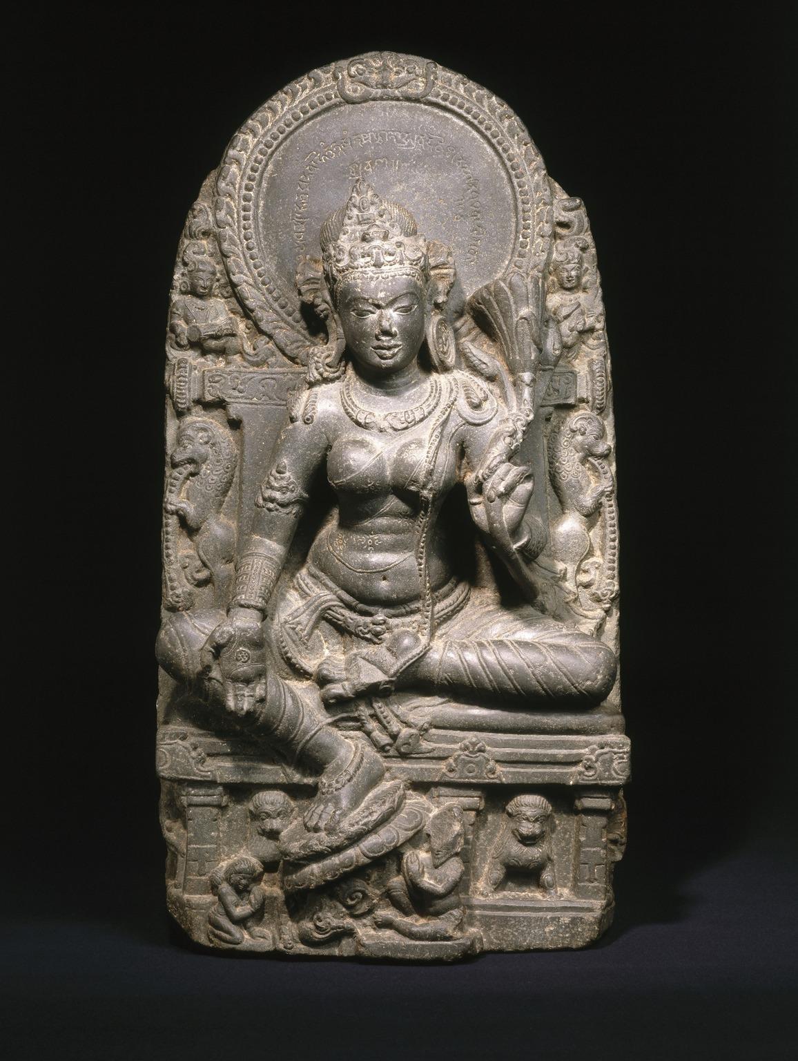 Brooklyn Museum Asian Art Seated Tara
