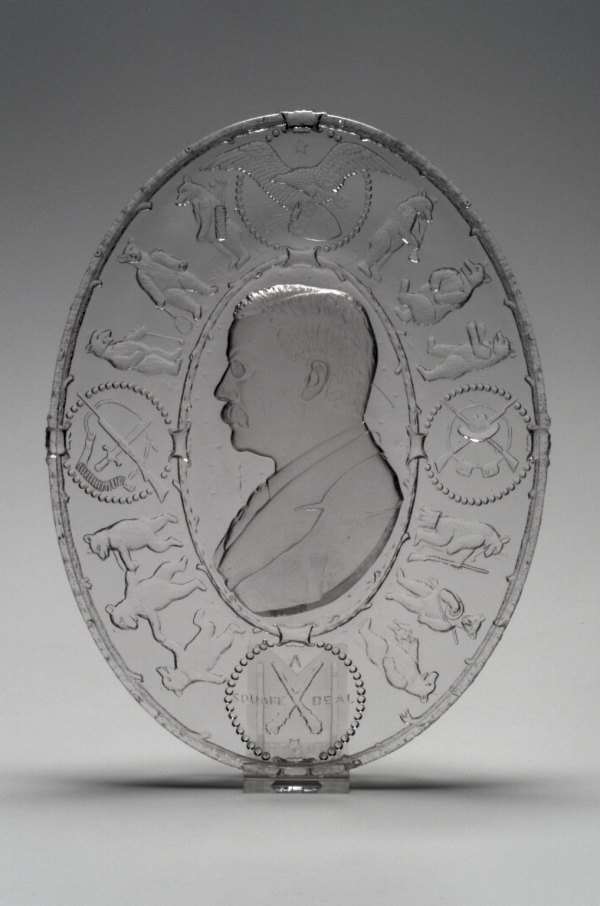 Brooklyn Museum Decorative Arts Plate Theodore Roosevelt