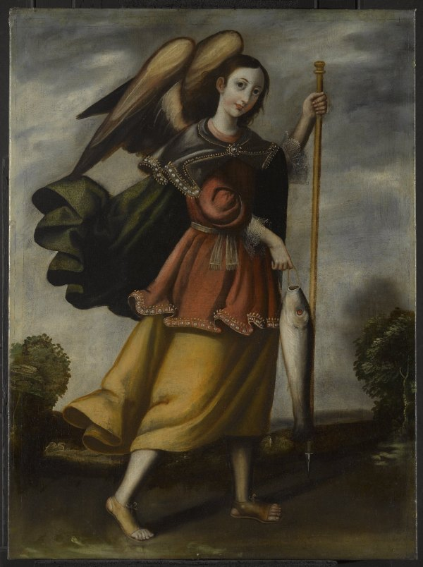 Archangel Raphael Painting