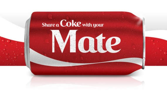 Image result for share a coke campaign lessons