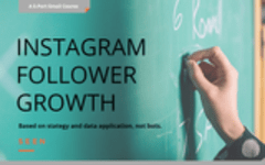 Enroll in the free course to grow your Instagram following