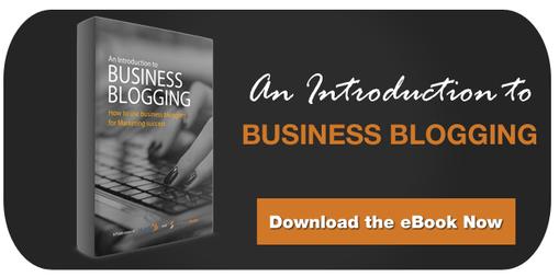 Free eBook Business Blogging