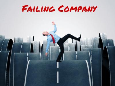 failing company