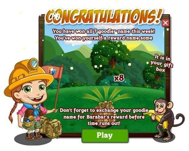 Farmville gamification with goals in email