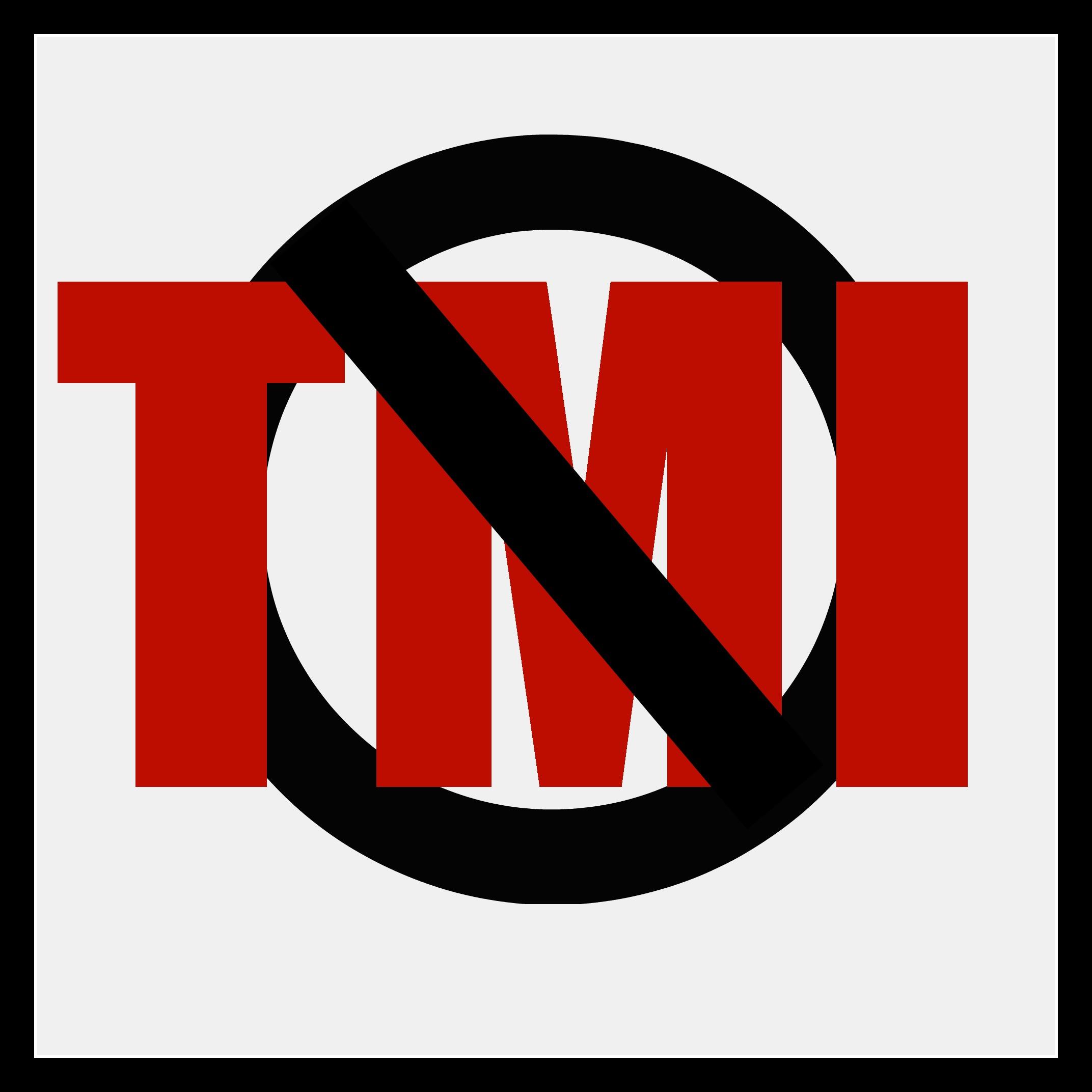 Social Media Tmi (too Much Information) Fundamentals