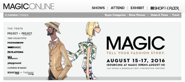 Magic trade show