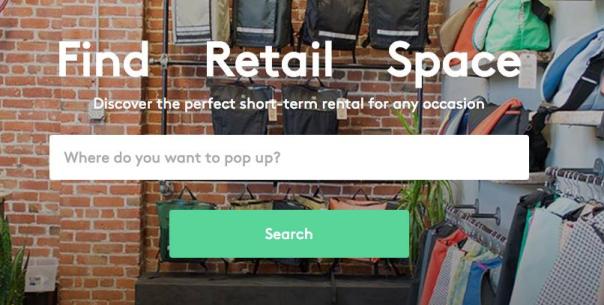 Storefront pop-ups
