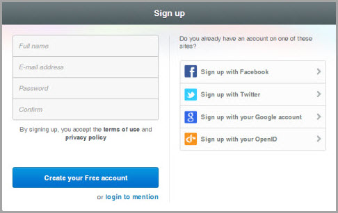 Mention-Signup