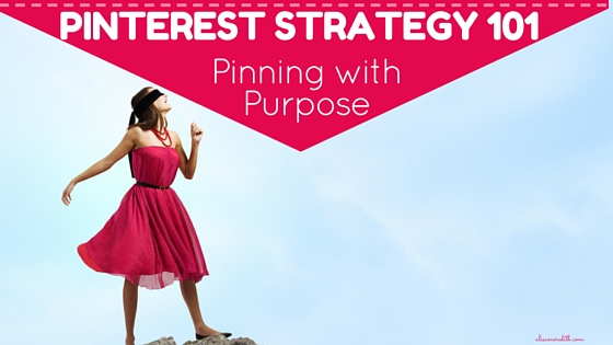 To get website traffic, leads, and sales from Pinterest, you need to pin with purpose. Here