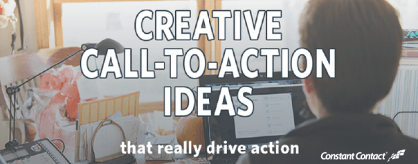 creative call to action infographic