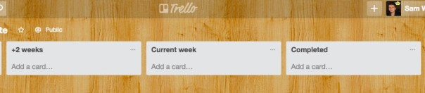 RankPay Trello Sprint