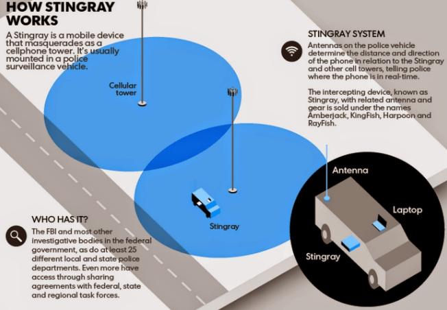 stingrays and Phone Surveillance