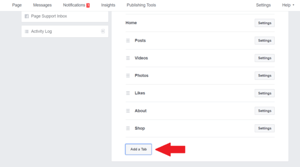 setting up Facebook Page reviews