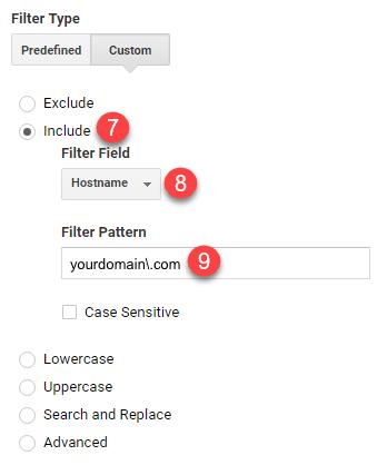 hostname filter