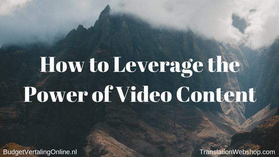 'How to Leverage the Power of Video Content' YouTube is the second largest search engine behind Google. With 3 billion searches per month, YouTube's search volume is larger than that of Bing, Yahoo, AOL, and Ask.com combined. As you can probably tell, video content is a very powerful component of your marketing mix. In this blog, I show you how your company can get the most out of video content. Read the blog here: http://bit.ly/PowerVideoC