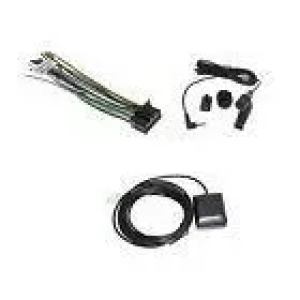 Wire harness gps antenna & microphone for kenwood dnx691hd