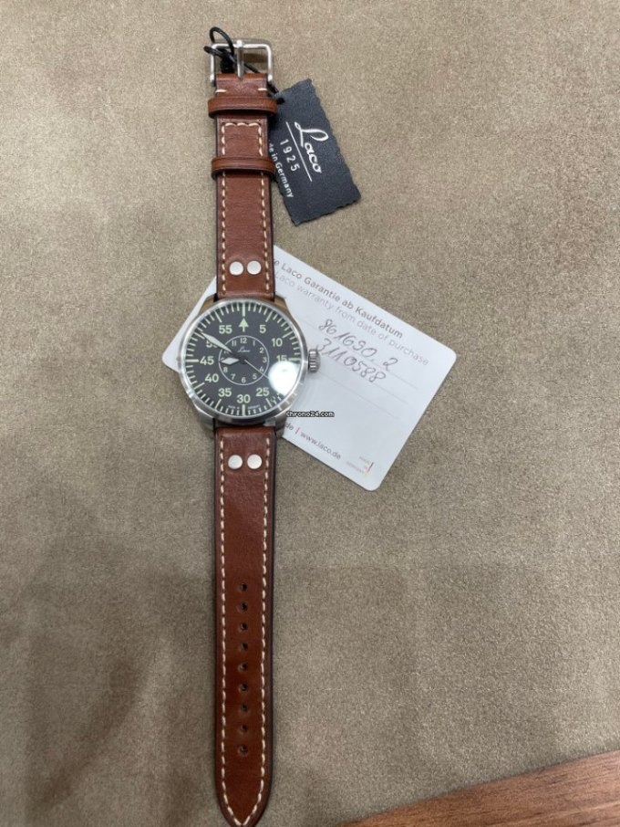 Laco Pilot Watch Type B Aachen Automatic 42mm For 404 For Sale From A Trusted Seller On Chrono24
