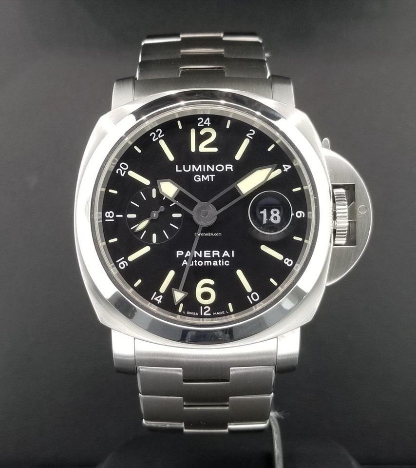 Panerai Luminor GMT Date 44mm PAM00297 S Steel Automatic  for 5995 for sale from a