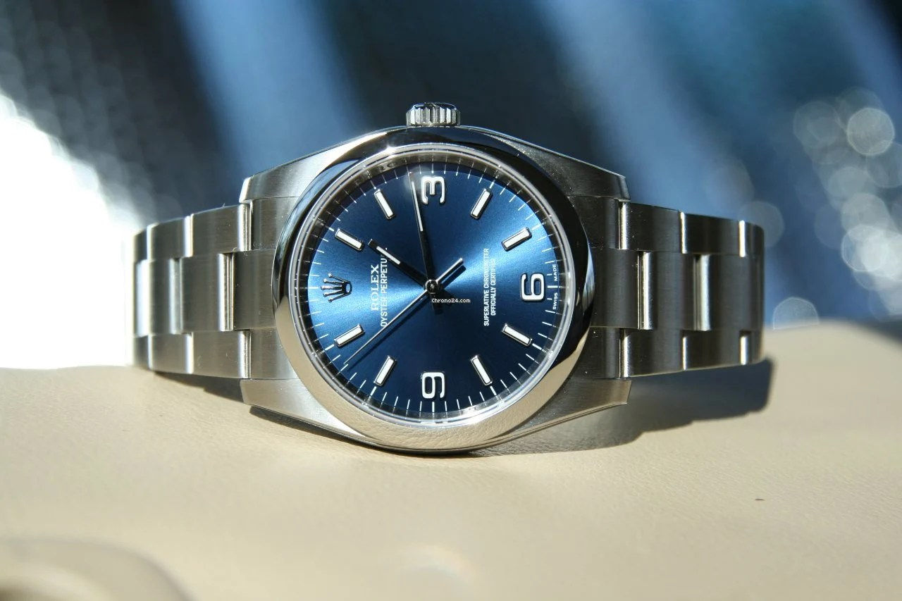 Vendesi Rolex Oyster Perpetual 36mm Blue Dial 4.300