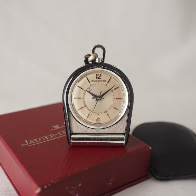 Jaeger Lecoultre Travel Alarm Clock For
