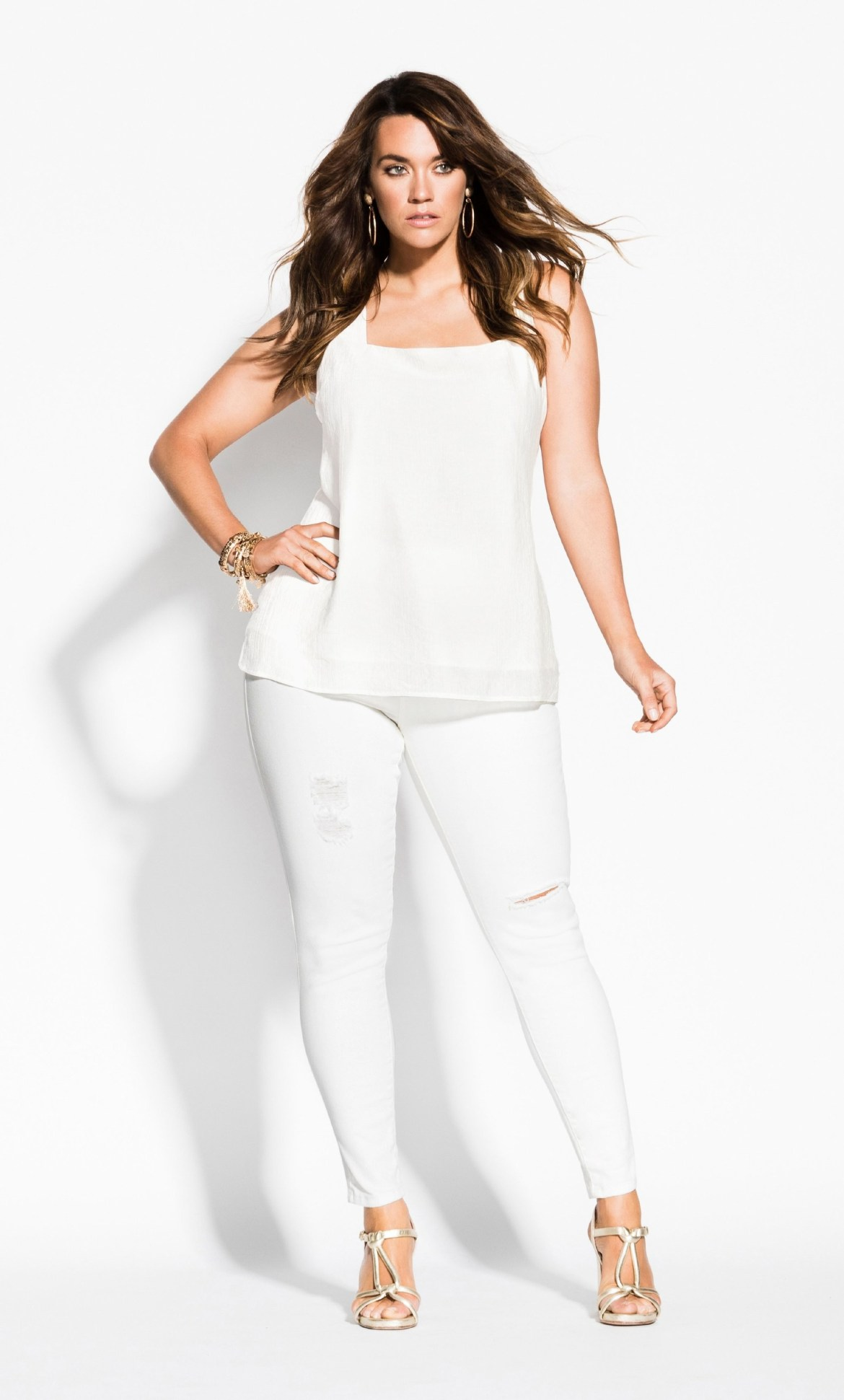 Betty Bow Top - ivory 4