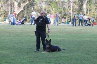 K-9 Jasmin; Red, White & Blue Festival