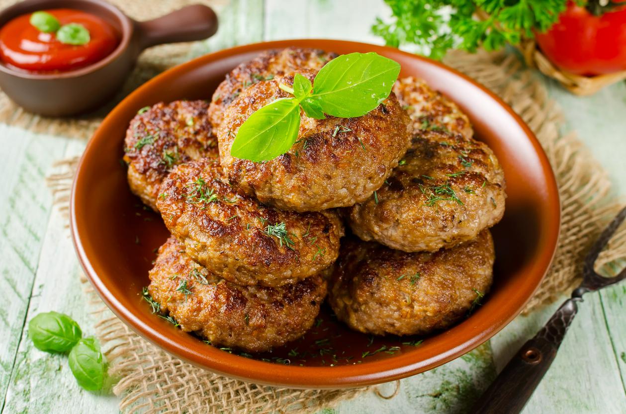 receta de hamburguesa de avena  CocinaDelirante