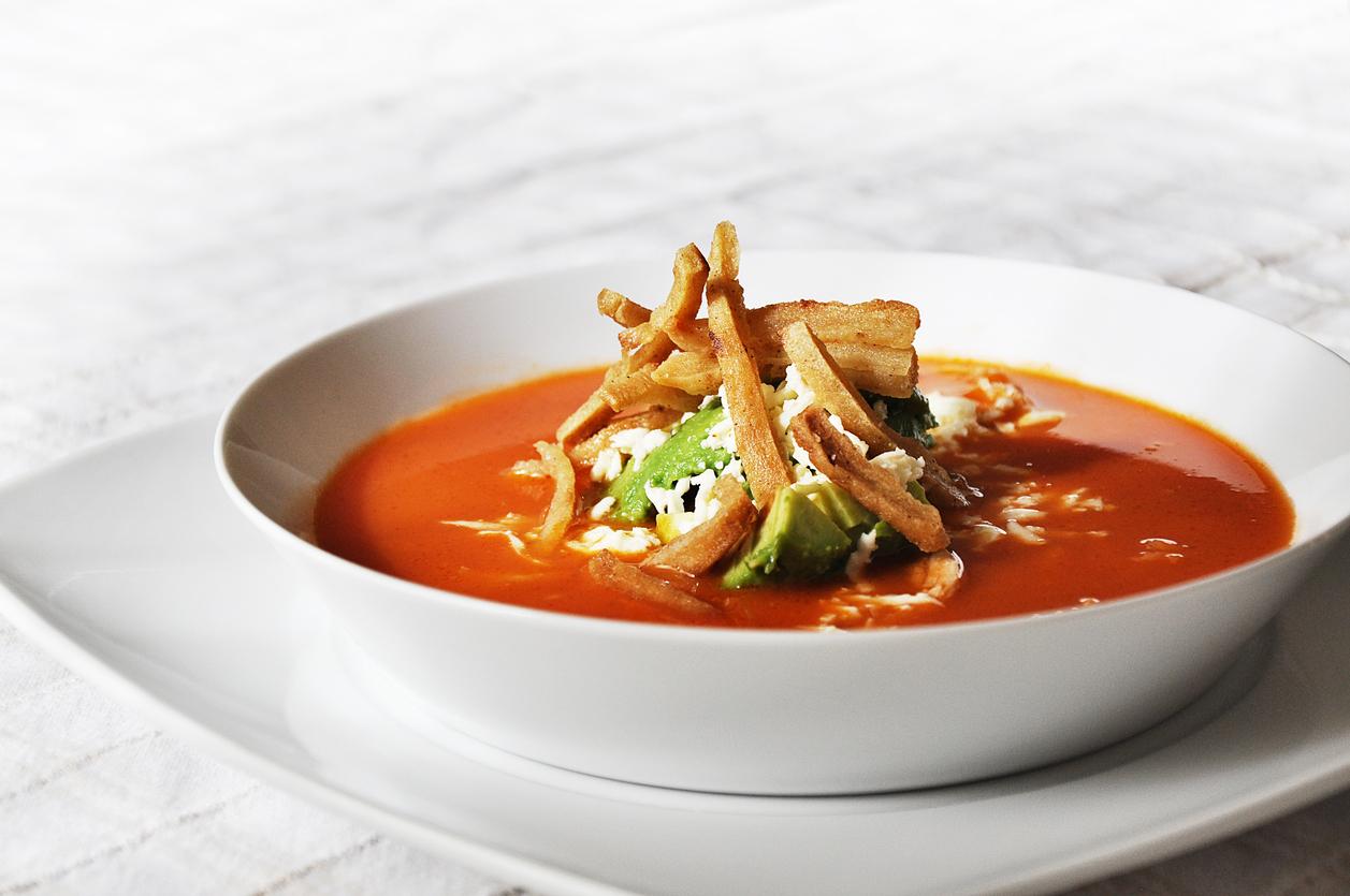 receta de sopa tarasca  CocinaDelirante
