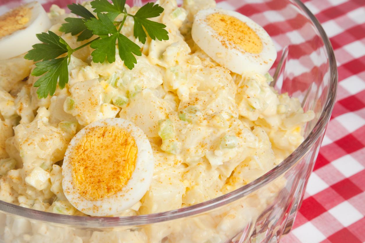 receta de ensalada de papa con huevo duro  CocinaDelirante
