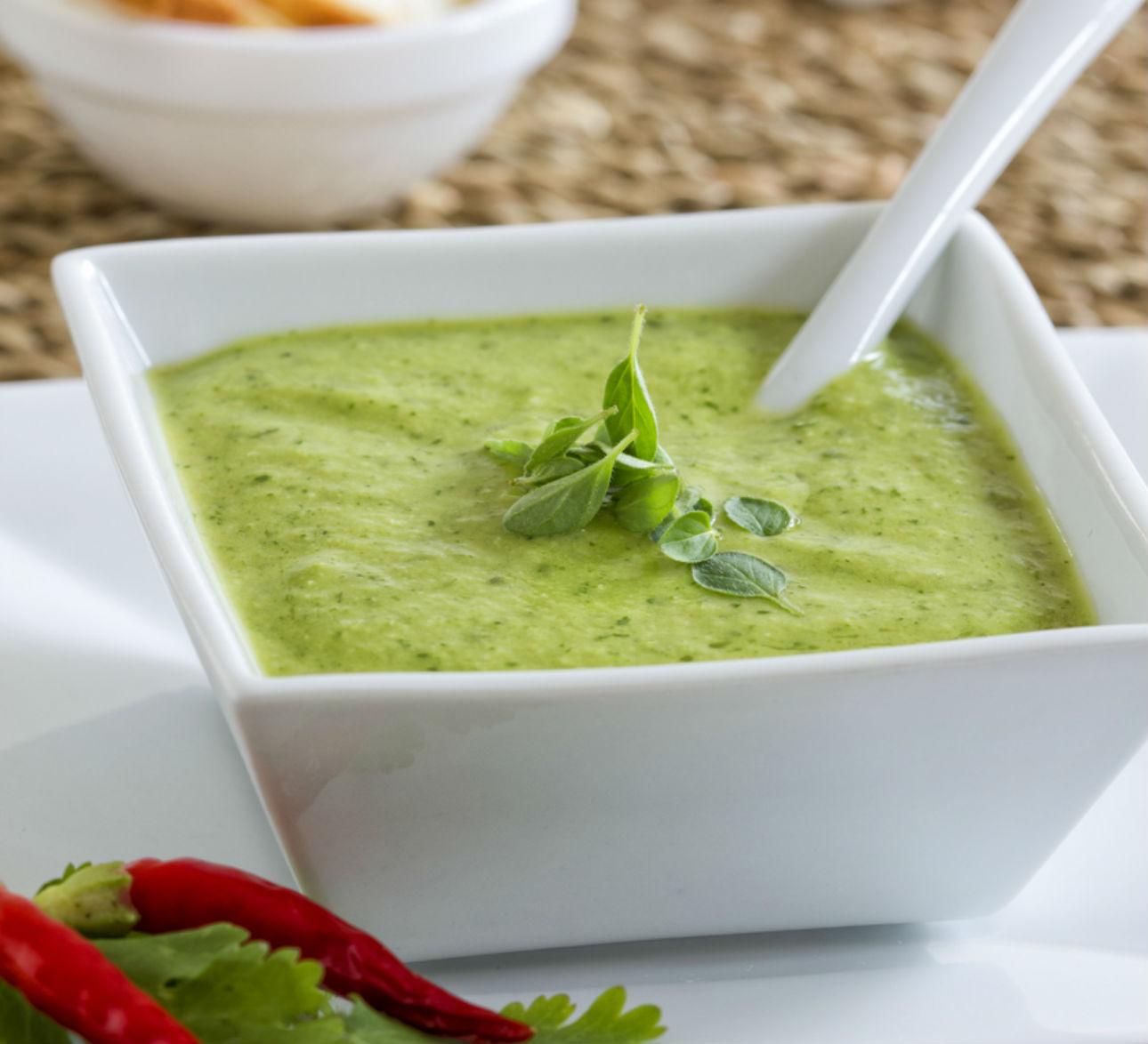 receta facil de aderezo de cilantro con mayonesa para