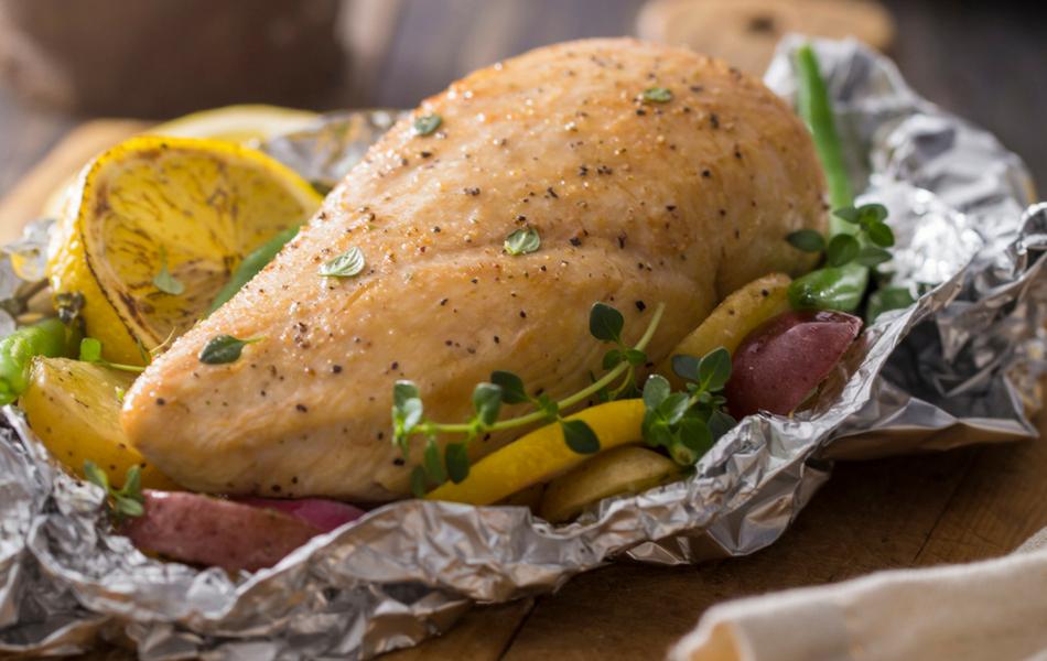 Pollo empapelado  Receta de Cocina Delirante