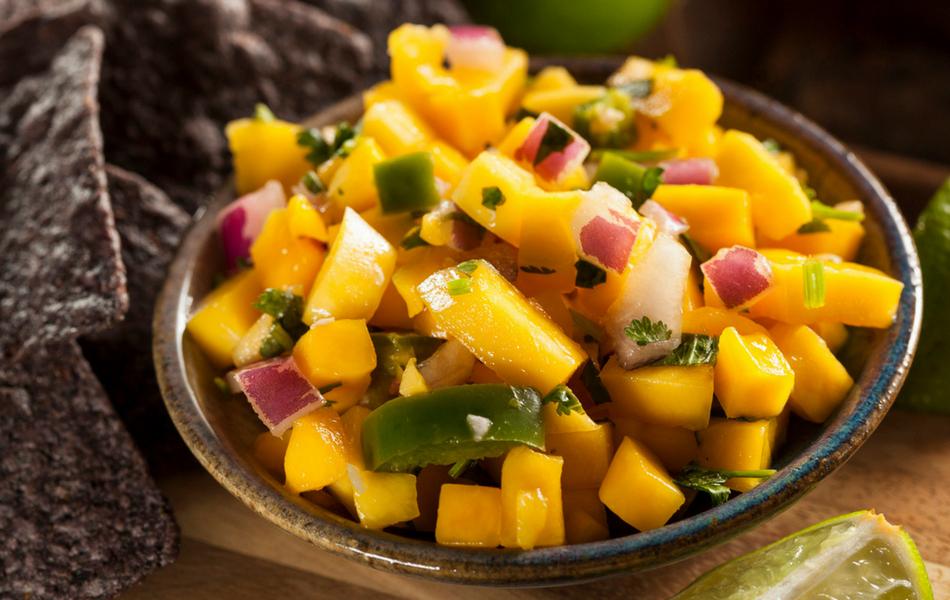 Salsa de mango y aguacate  Receta de Cocina Delirante