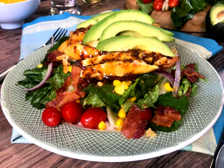 recetas de ensaladas agridulces para acompaar carnes