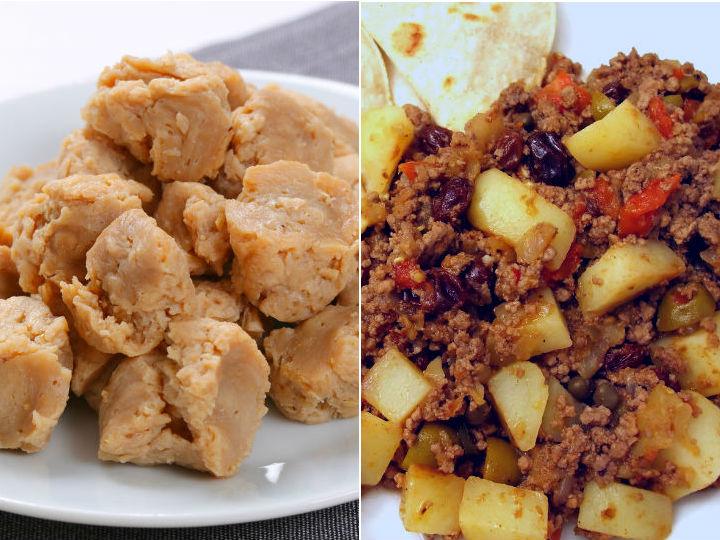 Como preparar carne de soya facil