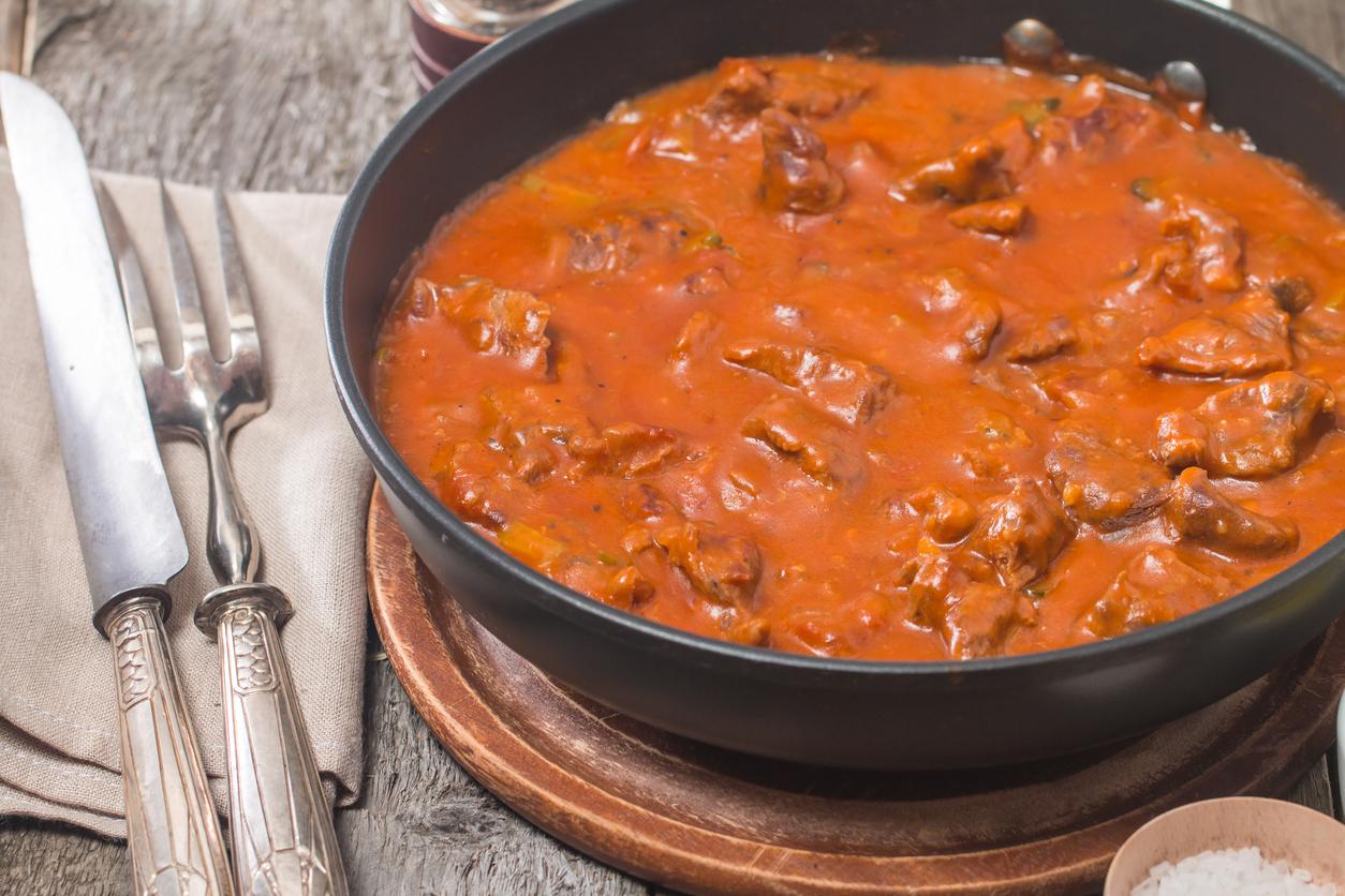 receta facil de costilla de cerdo en salsa roja