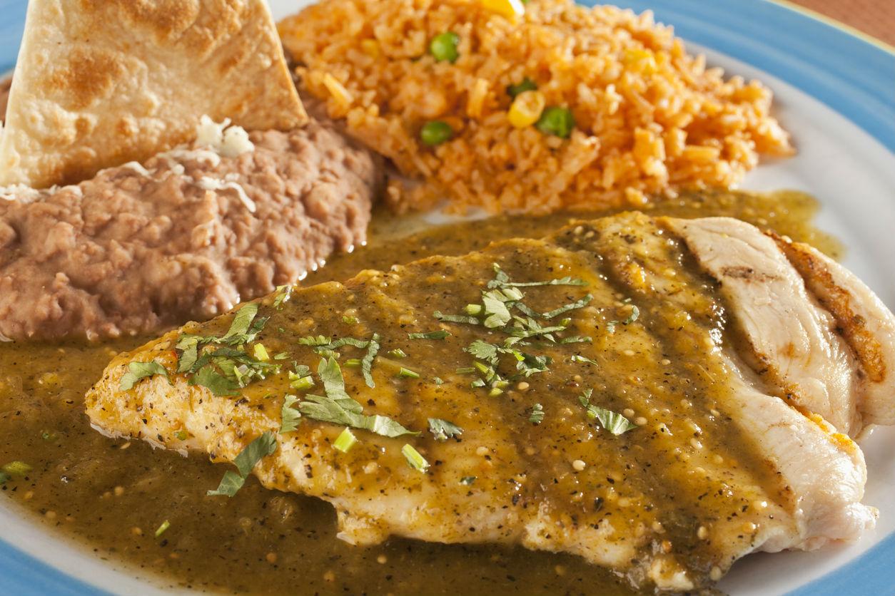 recetas faciles de pollo mexicanas
