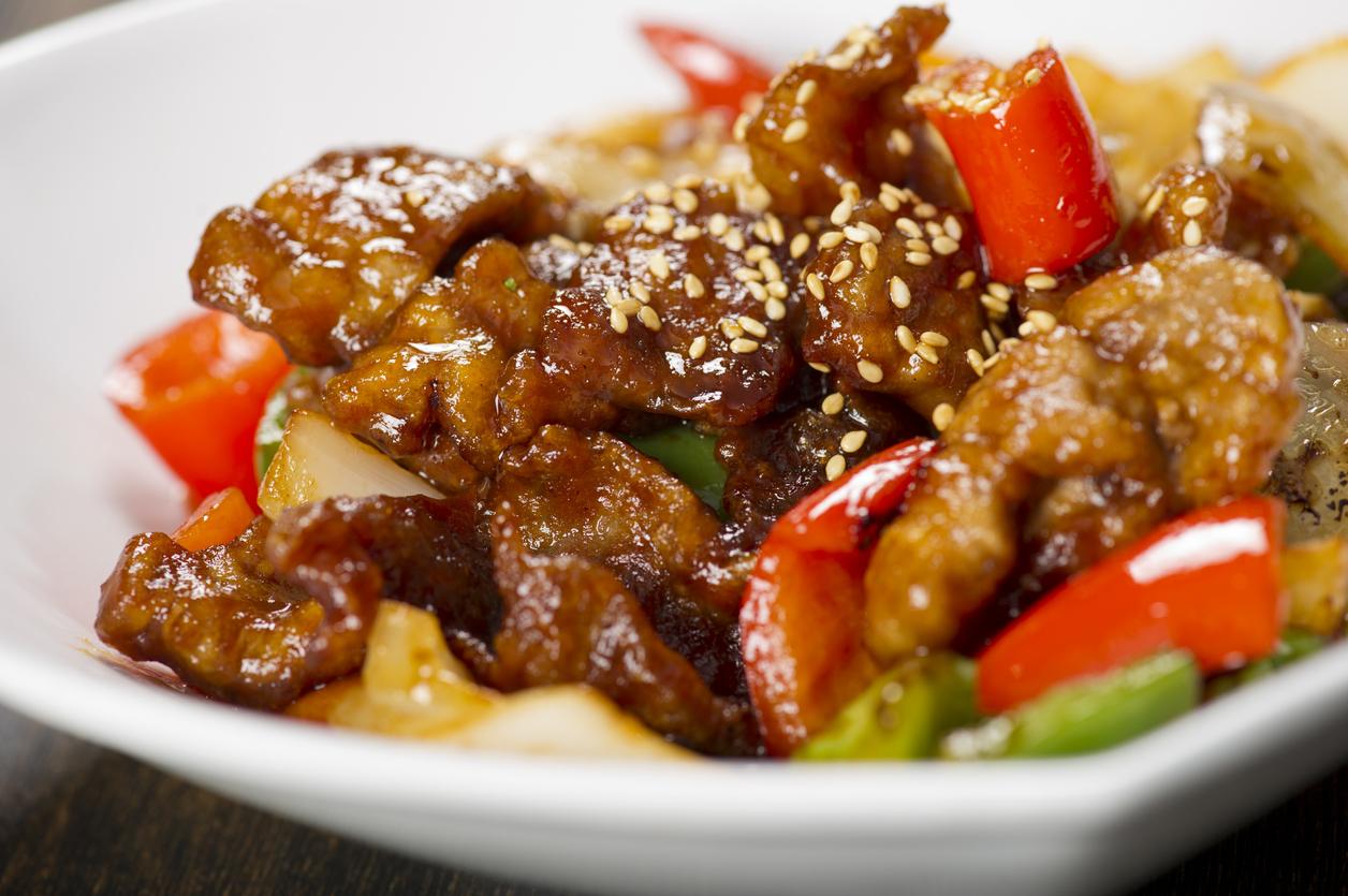 Cocina China Pollo Agridulce