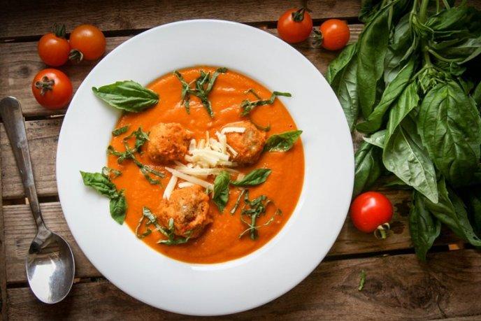 receta de albondigas con sopa de tomate de lata