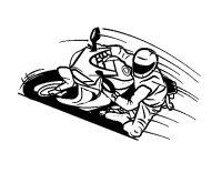 Coloriage De Moto Gp Dessin De Moto Cross A Colorier
