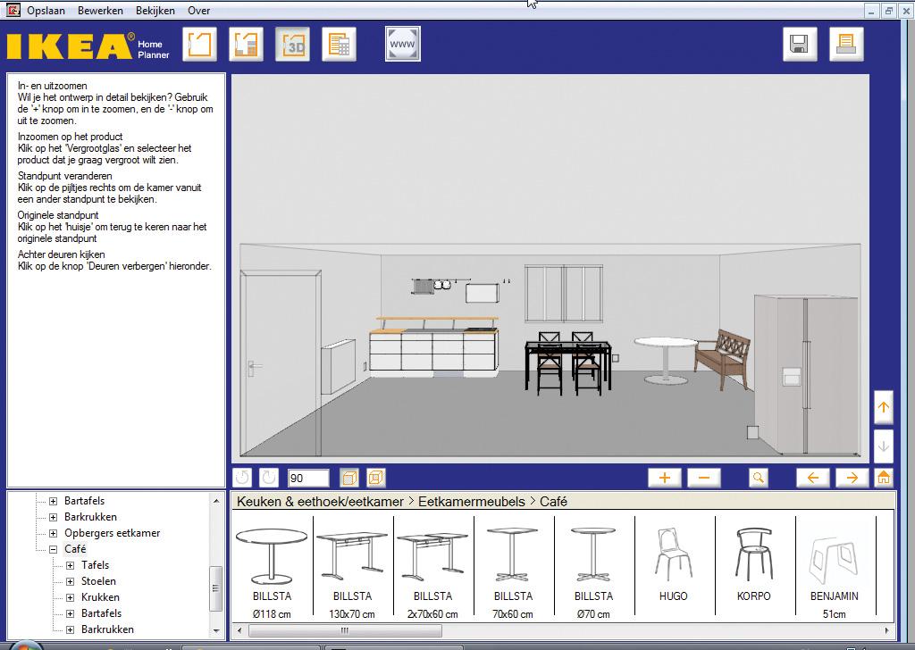 Nieuwe keuken Ontwerp m zelf  Computer Idee