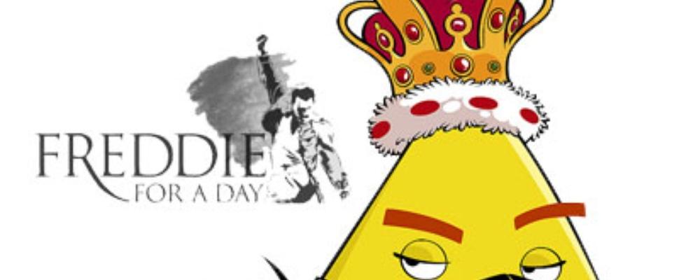 Freddie Mercury Als Angry Bird In Video Computer Idee