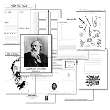 Free Famous Composers Study Resources
