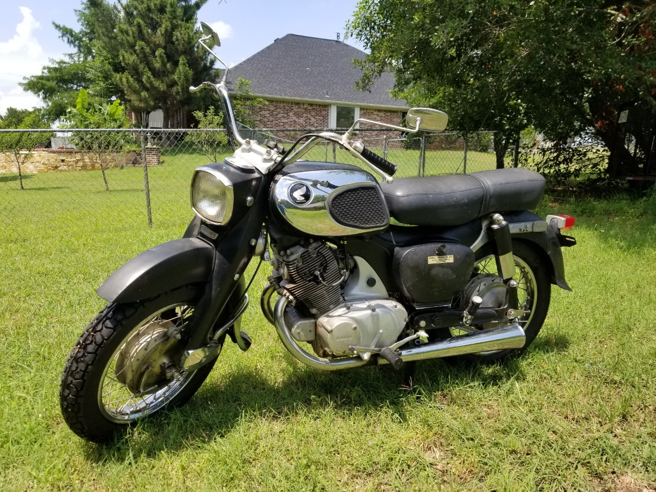 hight resolution of 1967 honda dream 305 ca77