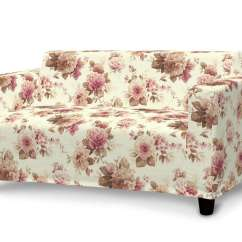 Fabric For Sofa Covers Uk Bed Bekas Di Bandung Ikea Klobo Cover Burgundy And Beige Roses Ivory
