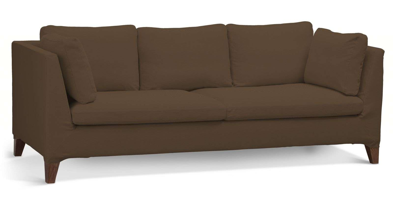 3 seater sofa cover bed for baby nursery stockholm mocca dekoria