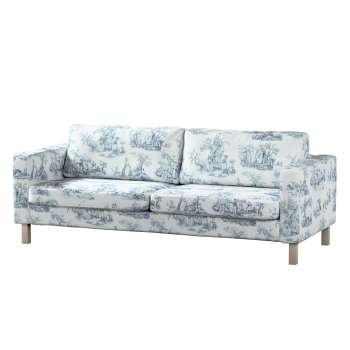 karlstad 3 seat sofa bed cover universal covers uk seater blue characters ivory background